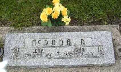 MCDONALD, JOHN - Hardin County, Iowa | JOHN MCDONALD