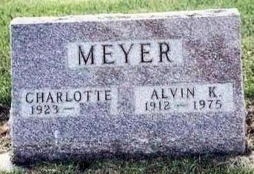MEYER, ALVIN - Hardin County, Iowa | ALVIN MEYER