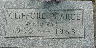 PEARCE, CLIFFORD - Hardin County, Iowa | CLIFFORD PEARCE