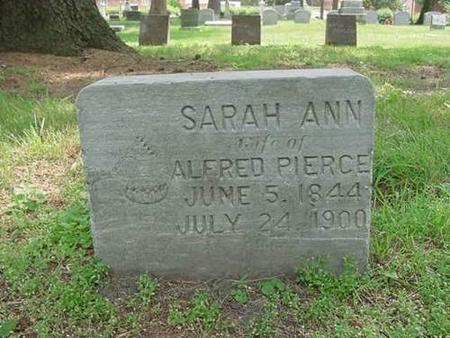 PIERCE, SARAH ANN - Hardin County, Iowa | SARAH ANN PIERCE