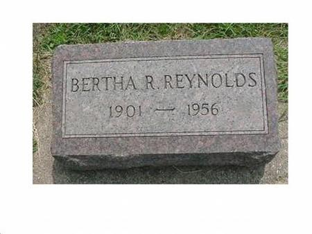 REYNOLDS, BERTHA R - Hardin County, Iowa | BERTHA R REYNOLDS