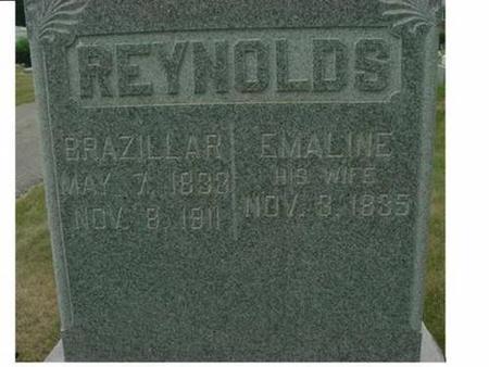 REYNOLDS, BRAZILLAR & EMALINE - Hardin County, Iowa | BRAZILLAR & EMALINE REYNOLDS