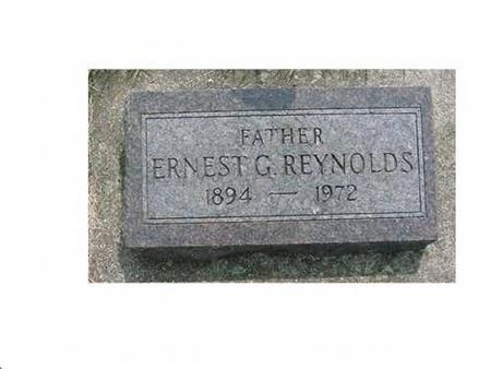 REYNOLDS, ERNEST G - Hardin County, Iowa | ERNEST G REYNOLDS