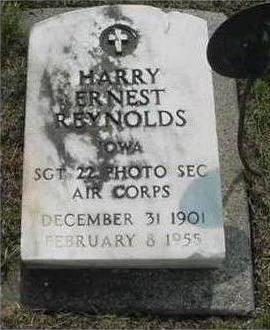 REYNOLDS, HARRY ERNEST - Hardin County, Iowa | HARRY ERNEST REYNOLDS