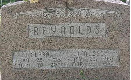 REYNOLDS, J. RUSSELL & CLARA - Hardin County, Iowa | J. RUSSELL & CLARA REYNOLDS