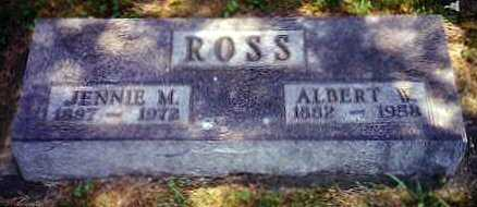 FLESSNER ROSS, JENNIE M. - Hardin County, Iowa | JENNIE M. FLESSNER ROSS