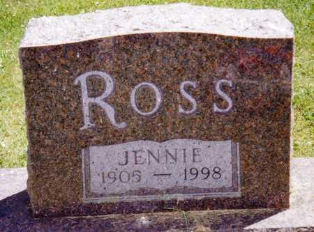 ROSS, JENNIE - Hardin County, Iowa | JENNIE ROSS