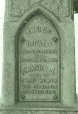 GROVES ROWEN, CYRUS AND AMANDA - Hardin County, Iowa | CYRUS AND AMANDA GROVES ROWEN