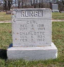 RUNGE, CARL - Hardin County, Iowa | CARL RUNGE