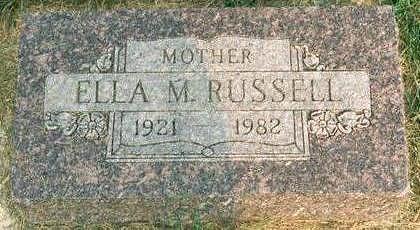 RUSSELL BESSMAN, ELLA M. - Hardin County, Iowa | ELLA M. RUSSELL BESSMAN