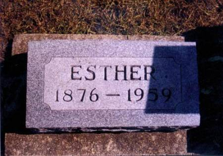 SAINT, ESTHER - Hardin County, Iowa | ESTHER SAINT
