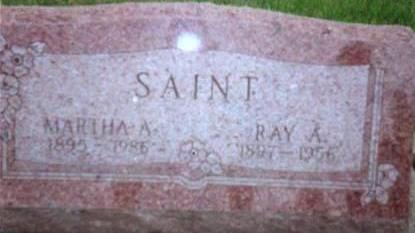 SAINT, RAY A & MARTHA A. - Hardin County, Iowa | RAY A & MARTHA A. SAINT