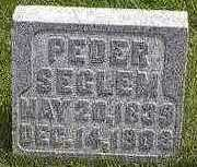 SEGLEM, PEDER - Hardin County, Iowa   PEDER SEGLEM