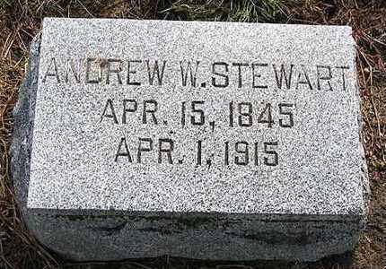 STEWART, ANDREW W. - Hardin County, Iowa | ANDREW W. STEWART