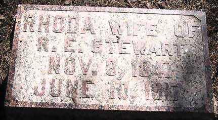 ORR STEWART, RHODA - Hardin County, Iowa   RHODA ORR STEWART