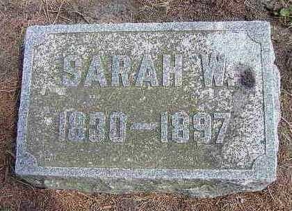 STODDARD, SARAH WILLIAMS - Hardin County, Iowa | SARAH WILLIAMS STODDARD