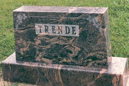 TRENDE, WALTER - Hardin County, Iowa   WALTER TRENDE