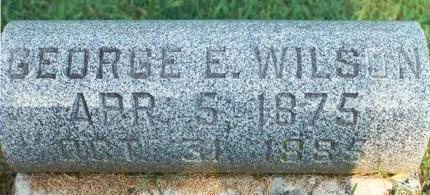 WILSON, GEORGE - Hardin County, Iowa | GEORGE WILSON