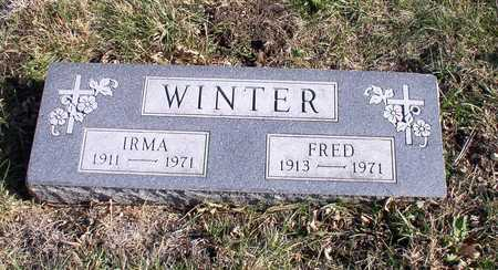 WINTER, FRED - Hardin County, Iowa | FRED WINTER