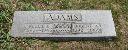 ADAMS, NELLIE E. - Harrison County, Iowa | NELLIE E. ADAMS