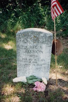 ALLMON, CARL S. - Harrison County, Iowa   CARL S. ALLMON