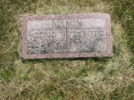 ALLMON, MILDRED - Harrison County, Iowa   MILDRED ALLMON
