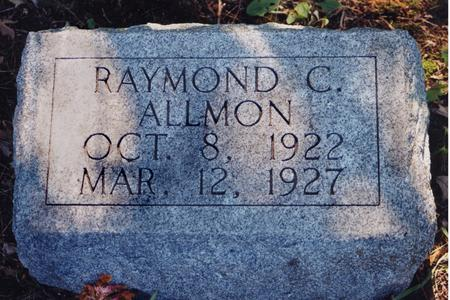 ALLMON, RAYMOND C. - Harrison County, Iowa   RAYMOND C. ALLMON
