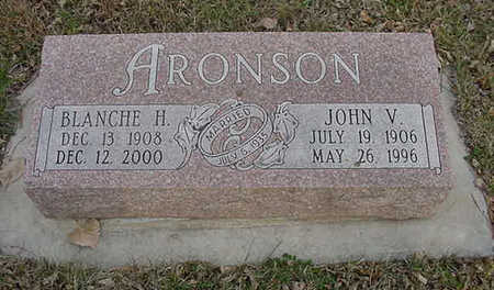 ARONSON, JOHN VICTOR - Harrison County, Iowa   JOHN VICTOR ARONSON