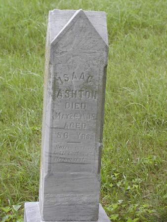 ASHTON, ISAAC - Harrison County, Iowa | ISAAC ASHTON