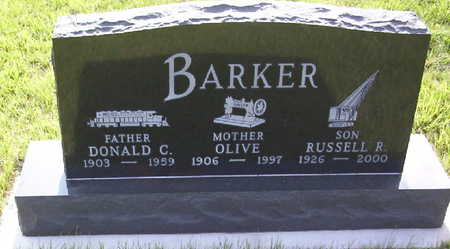 BARKER, DONALD CLIFFORD - Harrison County, Iowa | DONALD CLIFFORD BARKER
