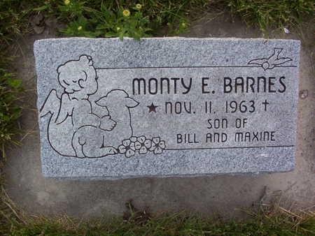 BARNES, MONTY EUGENE - Harrison County, Iowa | MONTY EUGENE BARNES