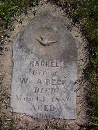 BECK, RACHEL - Harrison County, Iowa | RACHEL BECK