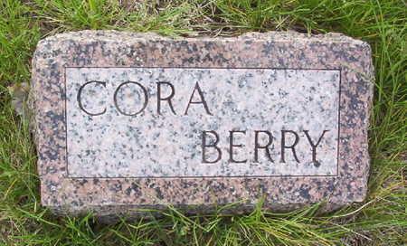 BERRY, CORA - Harrison County, Iowa   CORA BERRY