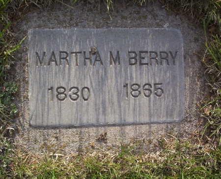 BERRY, MARTHA M. - Harrison County, Iowa   MARTHA M. BERRY