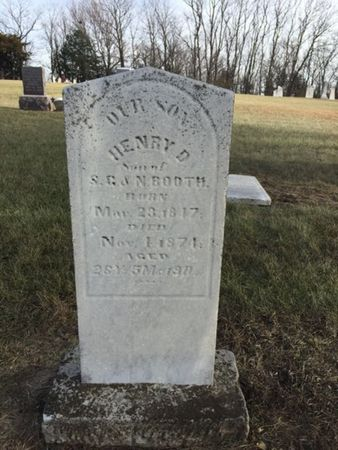 BOOTH, HENRY - Harrison County, Iowa | HENRY BOOTH