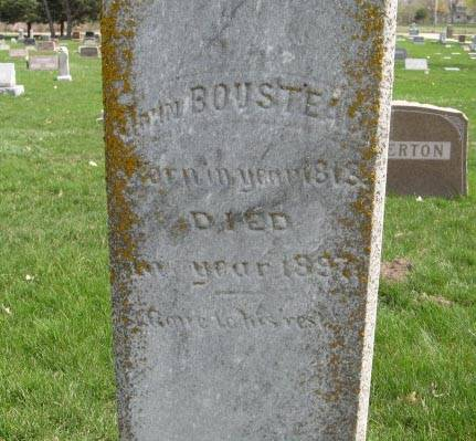 BOUSTEAD, JOHN (CLOSEUP) - Harrison County, Iowa | JOHN (CLOSEUP) BOUSTEAD