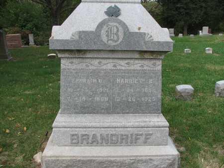 MAYNARD BRANDRIFF, HARRIET E