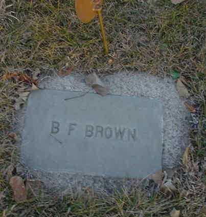 BROWN, BENJAMIN FRANKLIN