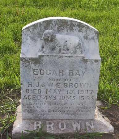 BROWN, EDGAR RAY - Harrison County, Iowa | EDGAR RAY BROWN