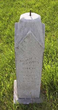 BROWN, JOHN A. - Harrison County, Iowa | JOHN A. BROWN