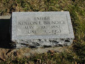 BRUNDIGE, KENTON - Harrison County, Iowa | KENTON BRUNDIGE