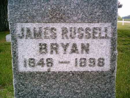 BRYAN, JAMES RUSSELL - Harrison County, Iowa | JAMES RUSSELL BRYAN