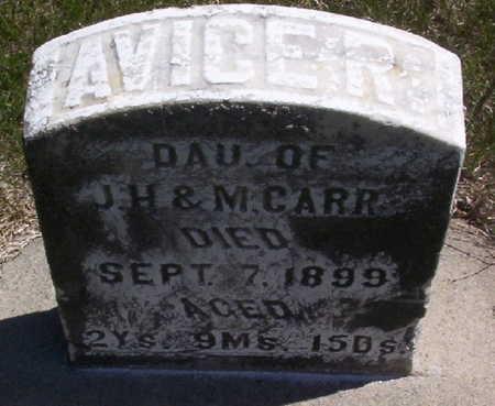 CARR, AVICE RAE - Harrison County, Iowa | AVICE RAE CARR
