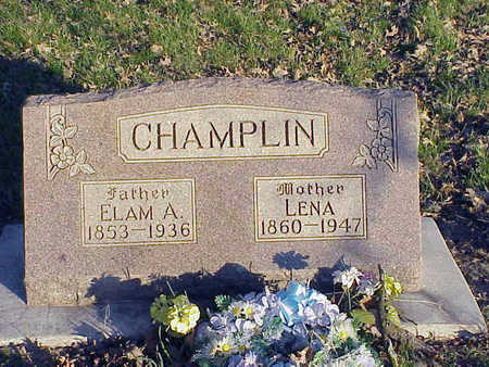 CHAMPLIN, LENA - Harrison County, Iowa | LENA CHAMPLIN