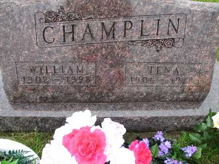 CHAMPLIN, WILLIAM J - Harrison County, Iowa | WILLIAM J CHAMPLIN