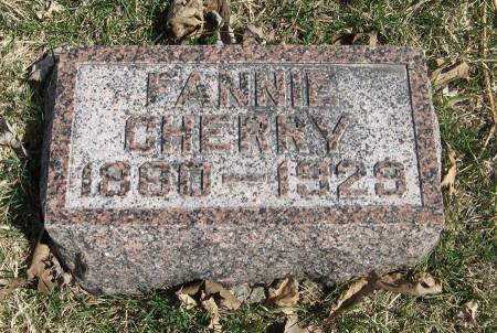 CHERRY, FANNIE - Harrison County, Iowa | FANNIE CHERRY