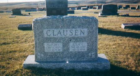 CLAUSEN, ELLA C - Harrison County, Iowa   ELLA C CLAUSEN