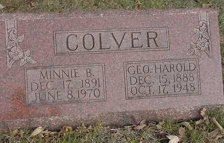 COLVER, GEORGE HAROLD
