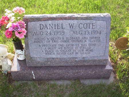 COTE, DANIEL  W. - Harrison County, Iowa | DANIEL  W. COTE