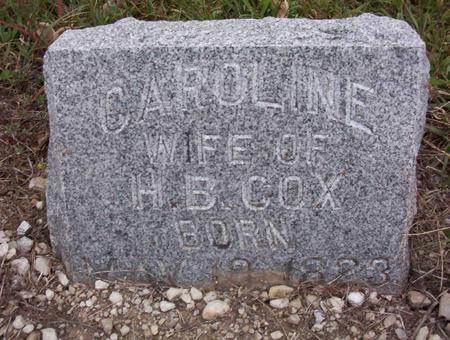 COX, CAROLINE - Harrison County, Iowa | CAROLINE COX